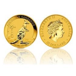 Australië 25 Dollars - Kangaroo 1/4 OZ. goud