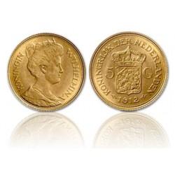 Nederland 5 Gulden - Gouden vijfje