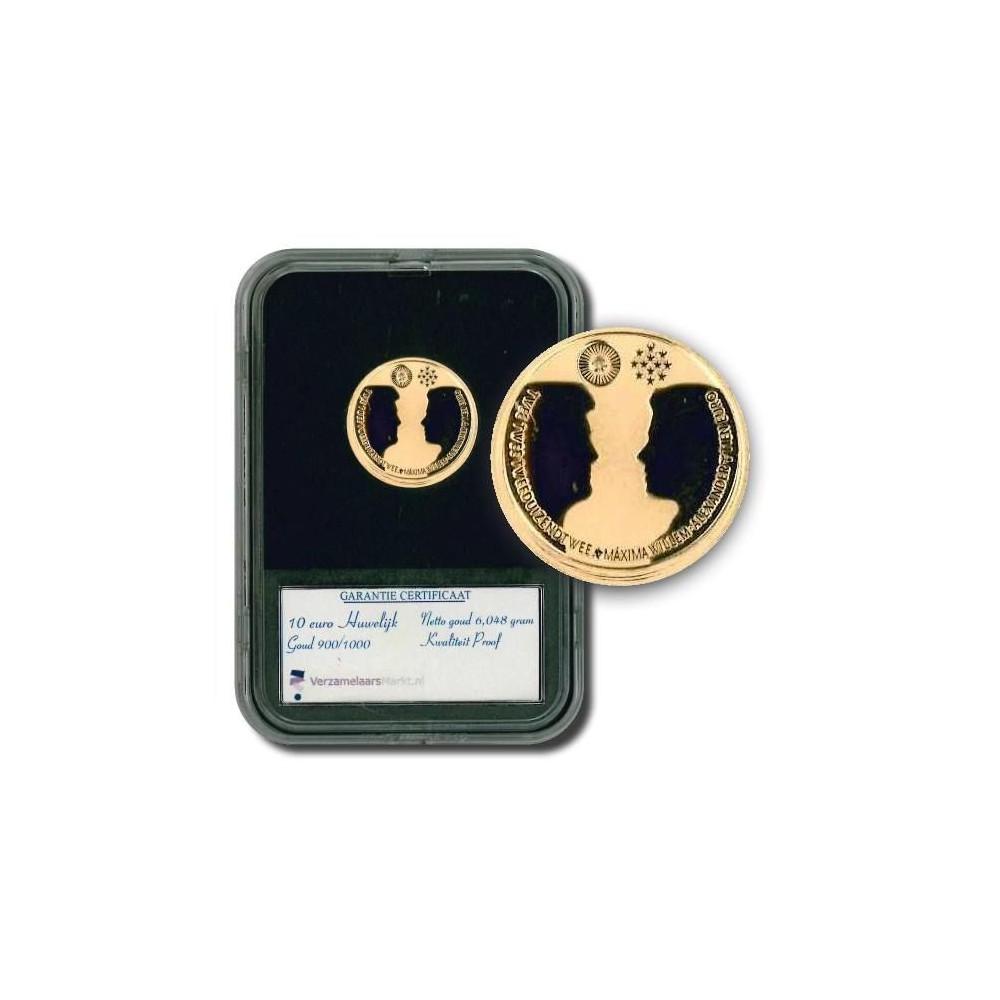 Nederland 10 euro 2002 - Huwelijksmunt