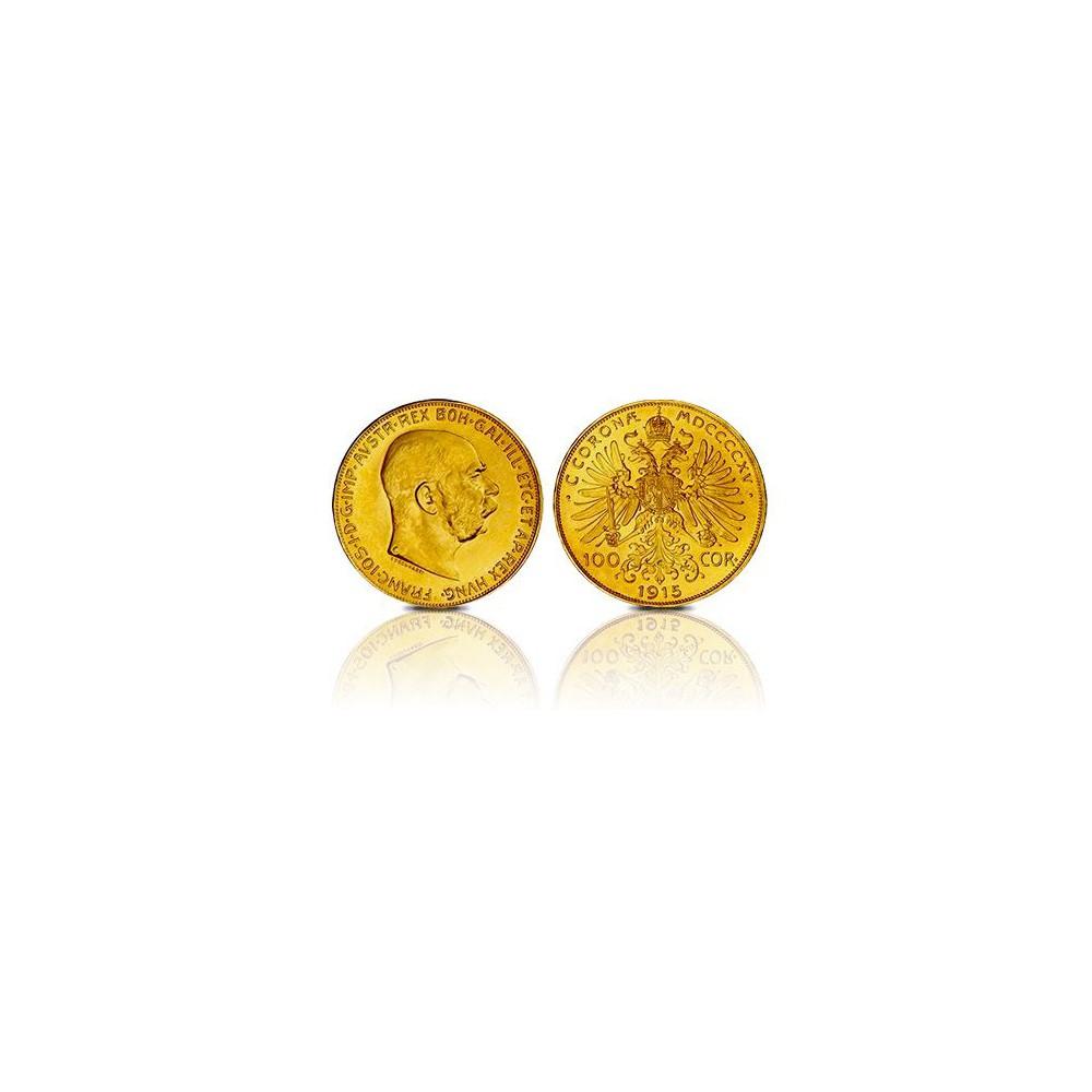 Oostenrijk 100 corona (goud)