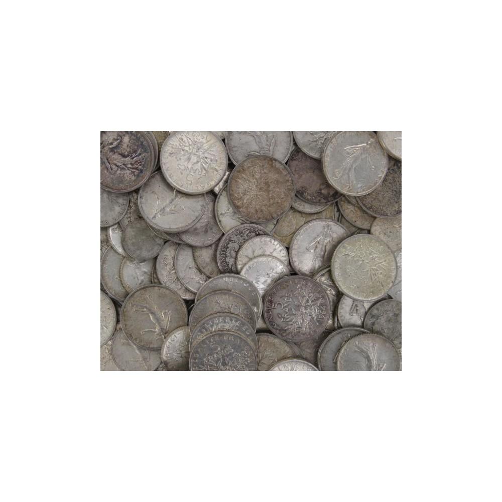 1 kilo netto zilveren Francs