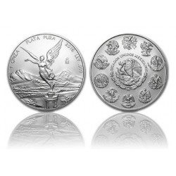 Mexican Libertad 1 OZ zilver