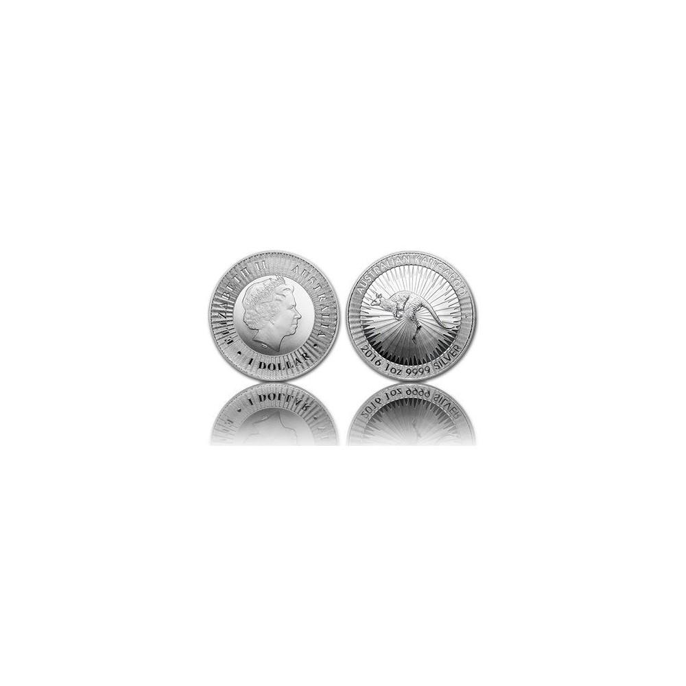 Australië 1 Dollar - Kangaroo 1 OZ zilver