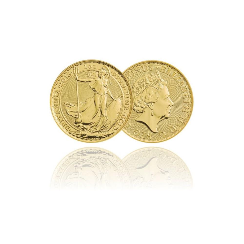 Engeland 1 OZ gouden munt Britannia