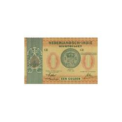 Nederlands Indië 1 gulden 1940 Specimen