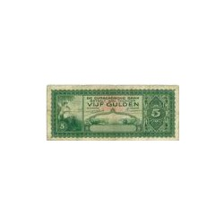 Curaçao 5 gulden 1943