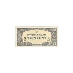 Nederlands Indië - De Japansche Regeering 10 cent 1942