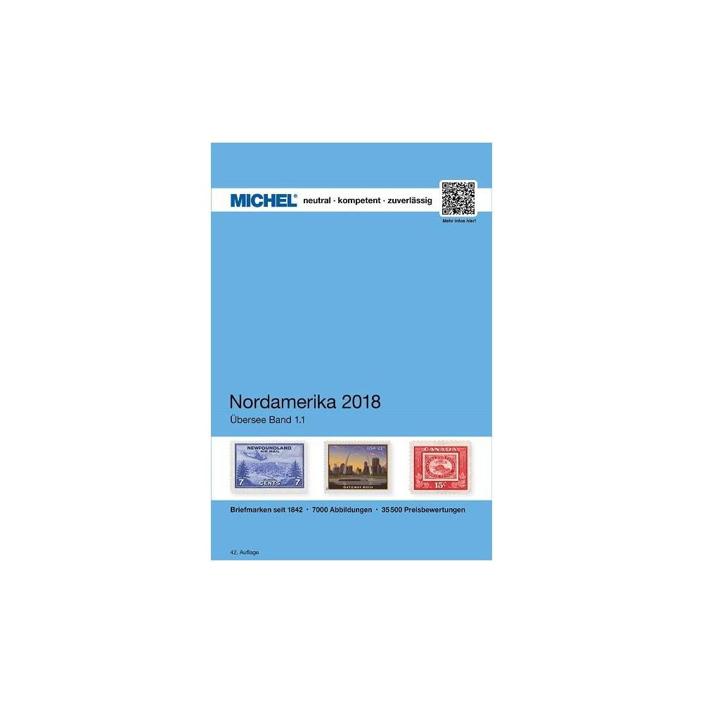 Michel catalogus Overzee deel 1/1 Noord Amerika 2018
