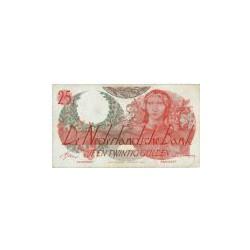 Nederland 25 Gulden 1947 'Flora' Replacement
