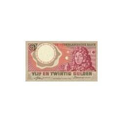 Nederland 25 Gulden 1955 'Huygens' Replacement