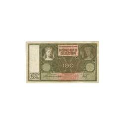 Nederland 100 Gulden 1930 'Luitspelende vrouw' Replacement