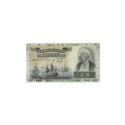 Nederland 20 Gulden 1939 'Emma' Replacement