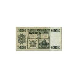 Nederland 20 Gulden 1926 'Stuurman' Replacement