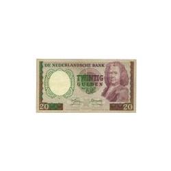 Nederland 20 Gulden 1955 'Boerhaave' Replacement