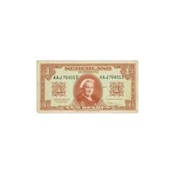 Nederland 1 Gulden 1945 'Wilhelmina' Misdruk