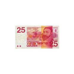 Nederland 25 Gulden 1971 'Sweelinck' Misdruk