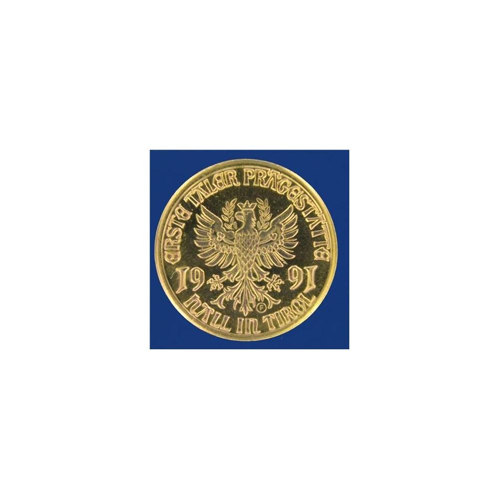 Oostenrijkse ledenmunt 1991