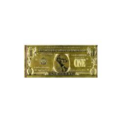 USA 1 dollar biljet in Goud 'George Washington'