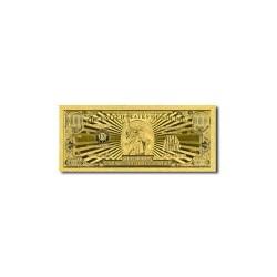 USA 1.000.000 dollar biljet in Goud 'Million'