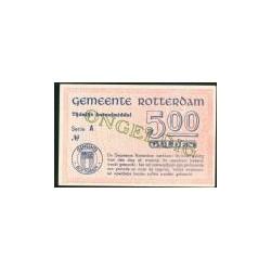 Rotterdam 5 Gulden - Ongeldig, Open letter, 15 mei 1940