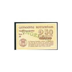 Rotterdam 2,50 Gulden  Ongeldig,open letter.15 Mei 1940