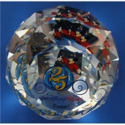 Presse papier 25ste verjaardag Disney park Florida
