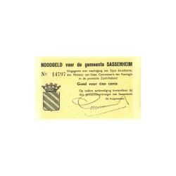 Sassenheim 10 cent