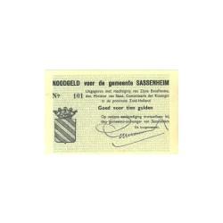 Sassenheim 10 gulden