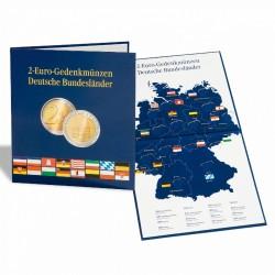 """Leuchtturm Muntenalbum PRESSO voor 2-euromunten """"Duitse deelstaten"""""""