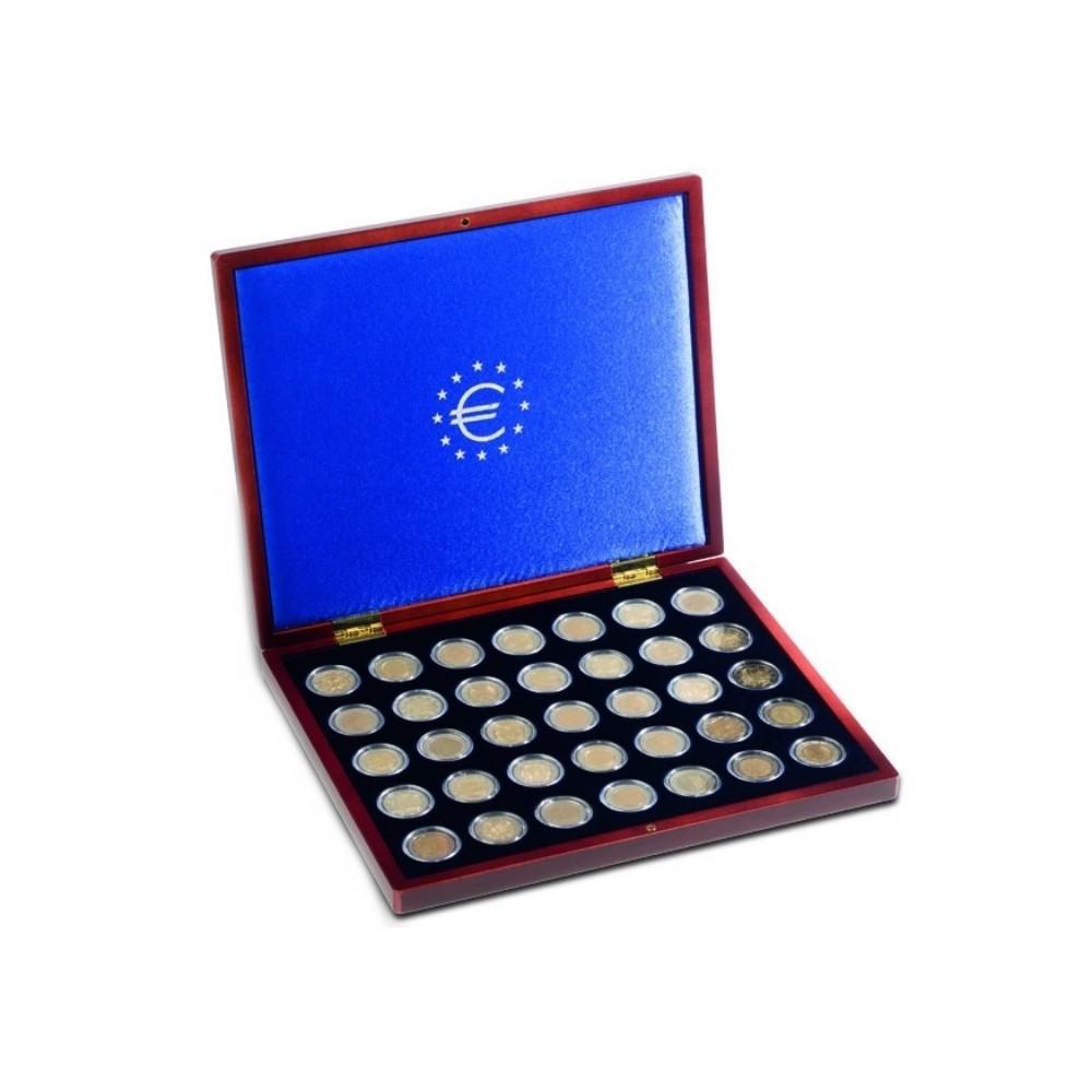 Leuchtturm VOLTERRA UNO 2 euromunten cassette incl. 35 capsules