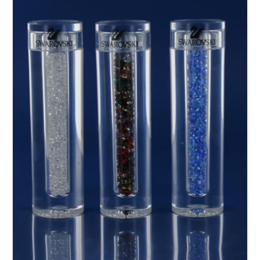 3 Buisjes met diverse kleine kristallen