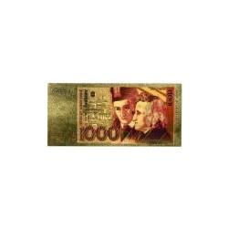 Duitsland biljet 1000 Mark in goud