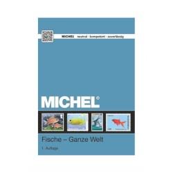 Michel motiefcatalogus wereld Vissen 1e editie.
