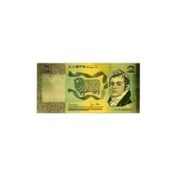 Australia biljet 2 Dollar in goud 'MacArthur'