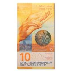 Switzerland 10 Franken 2017