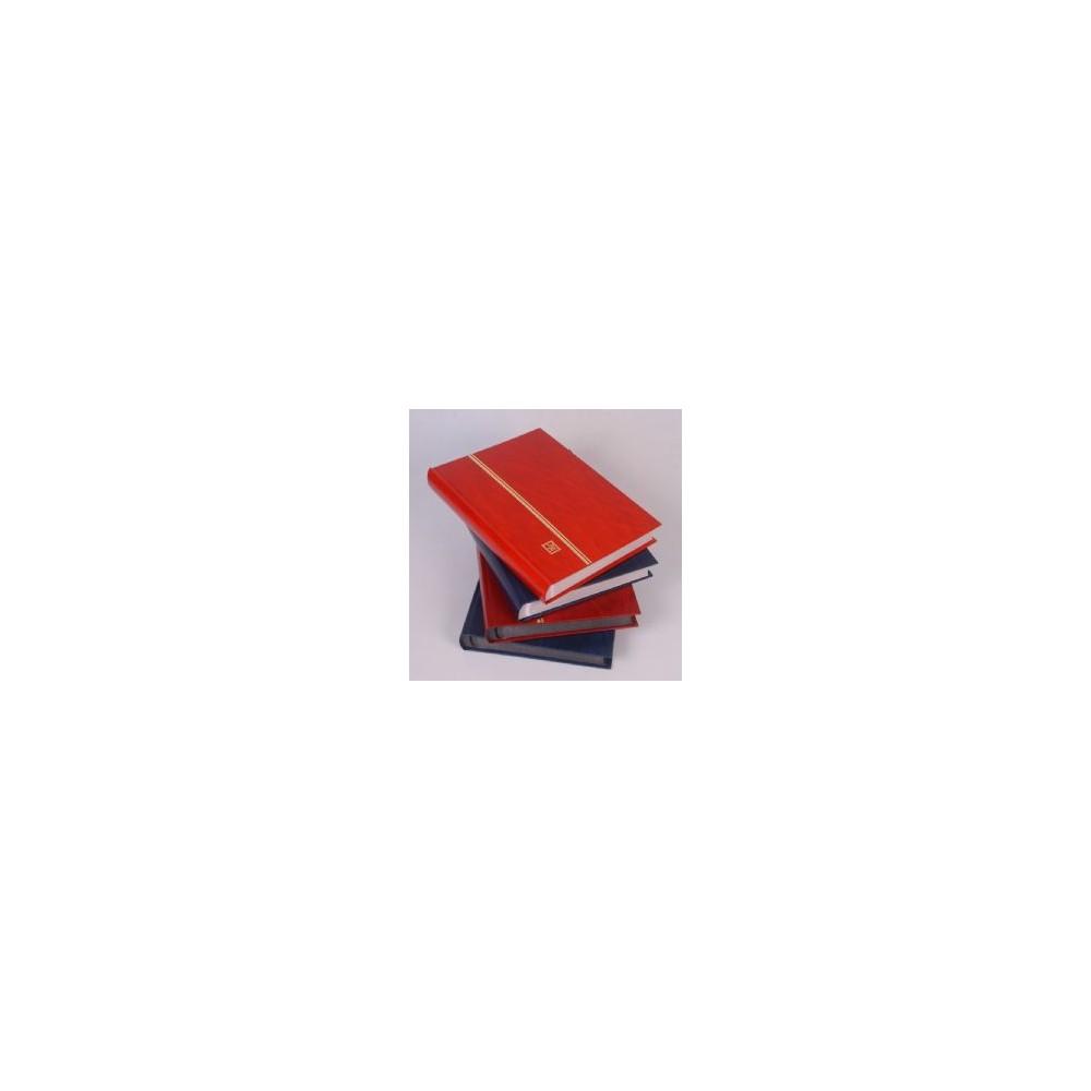 Mandor Insteekalbum SGX16, 16 zwarte bladen, kleur rood