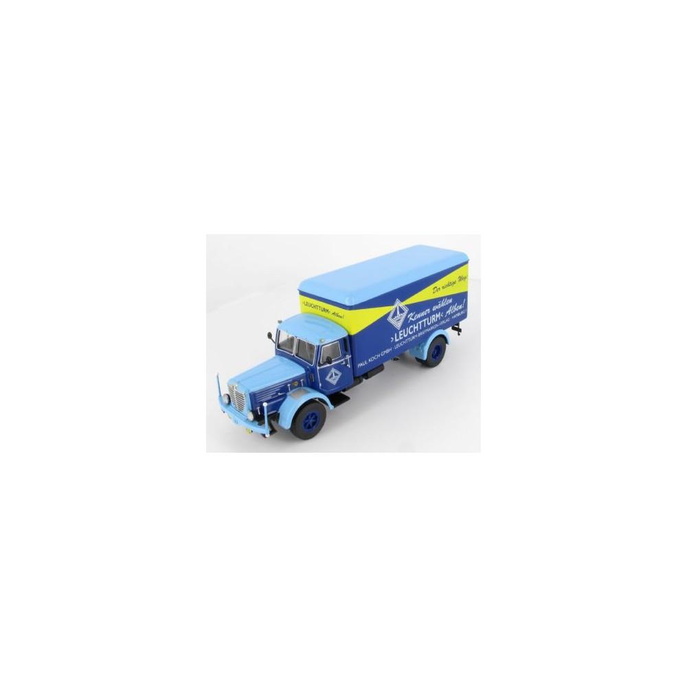 Leuchtturm model vrachtauto
