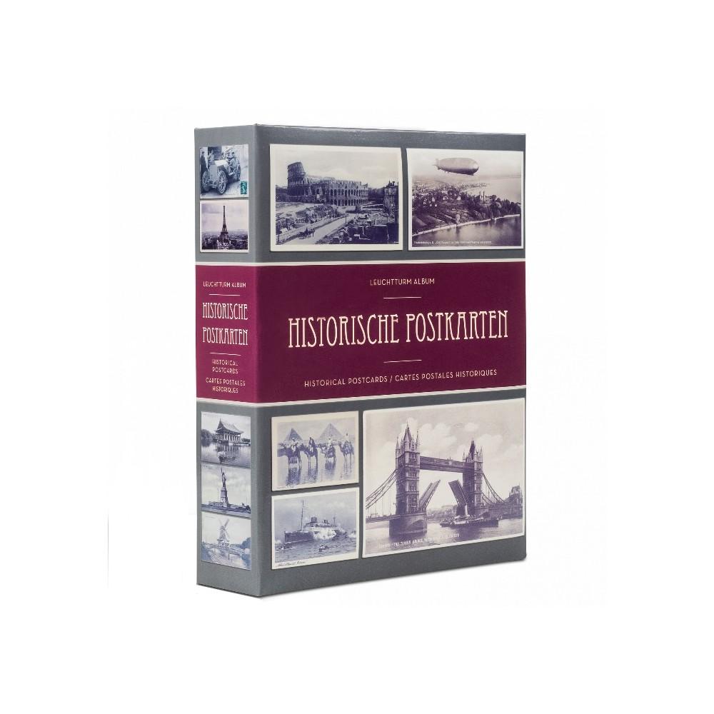 Leuchtturm album 'Historische postkarten' voor 100-200 kaarten