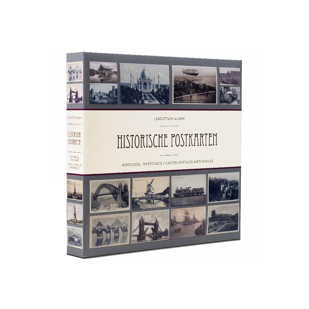 Leuchtturm album 'Historische postkarten' voor 300-600 kaarten