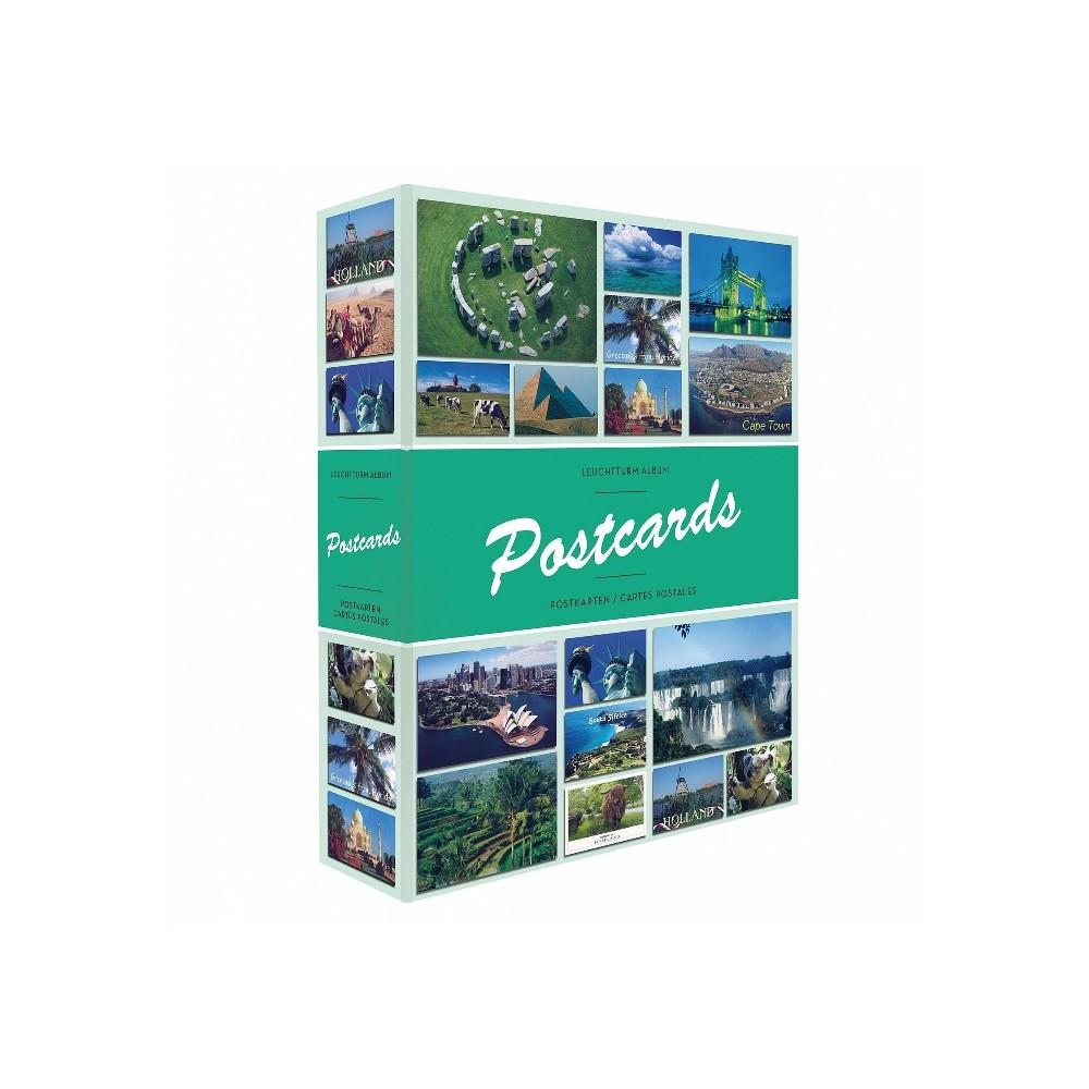 Leuchtturm album 'Postcards' voor 100-200 kaarten