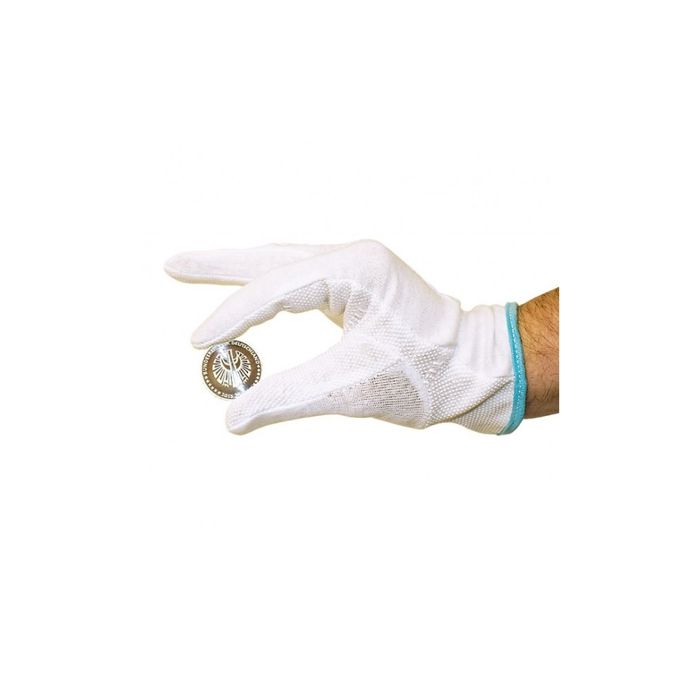 Lindner katoenen handschoenen met extra grip (per paar)