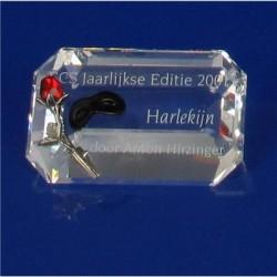 Plaquette Harlekijn