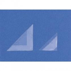 Zelfklevende hoekjes, formaat 32 x 32 mm, 250 stuks