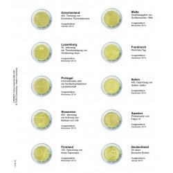 Muntenblad K3 Gemeenschappelijke uitgave Verdrag van Rome