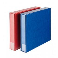 Lindner ansichtkaarten album XL met cassette, blauw (zonder inhoud)