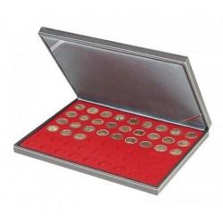 Lindner NERA-M muntencassette (Ø series Euromunten)