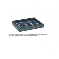 Lindner NERA-M muntencassette (Ø32 mm) met zichtvenster!