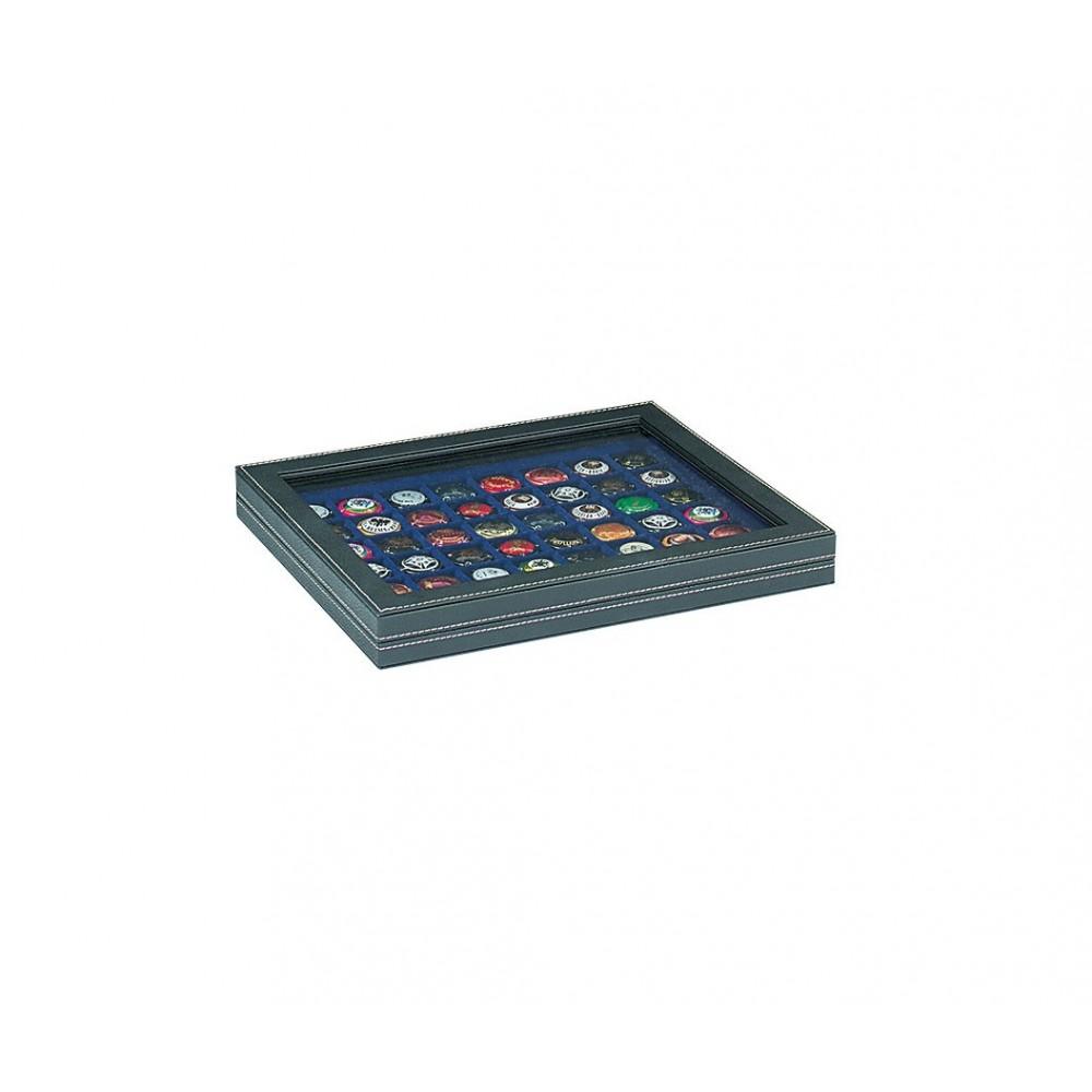 Lindner NERA-M muntencassette (Ø39 mm) met zichtvenster!