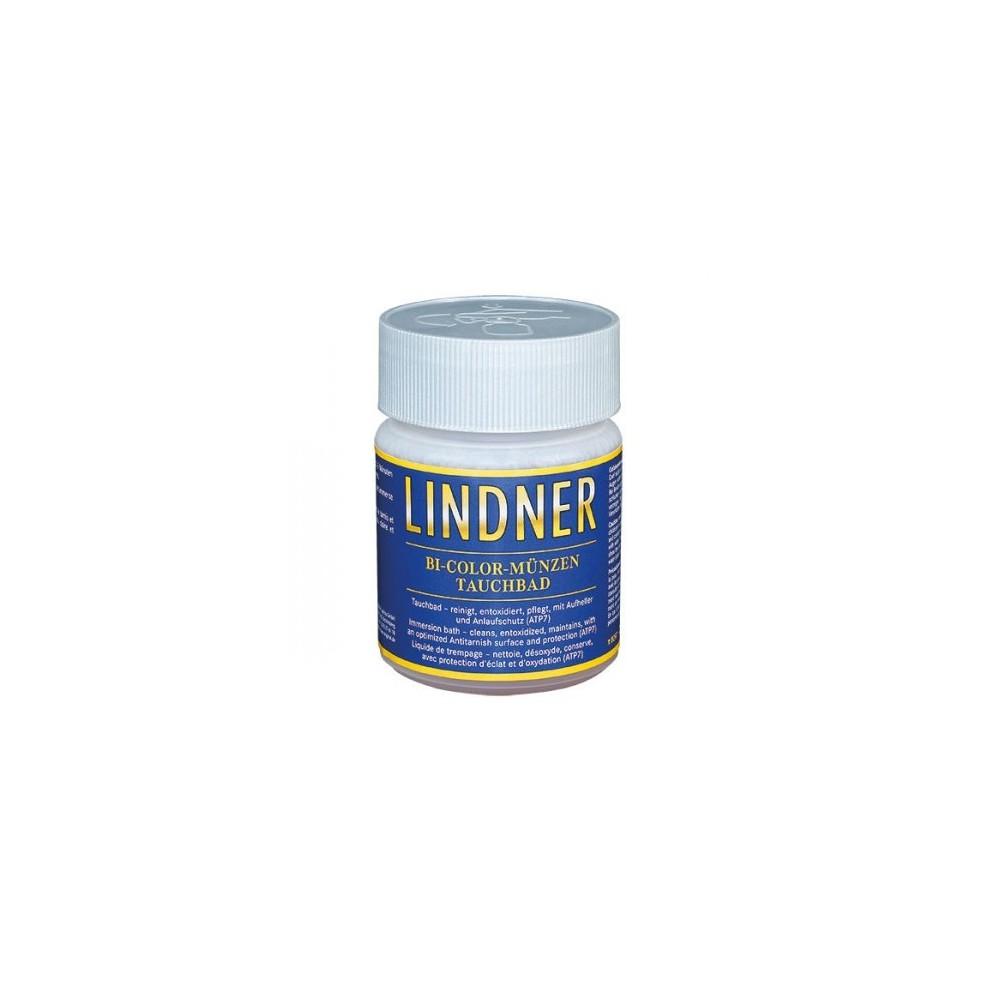 Lindner muntreiniger voor munten uit Bi-metaal