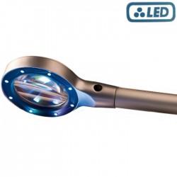 Leuchtturm steelloep LED (2,5x vergroting)